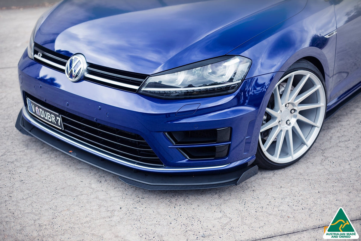 Buy Volkswagen Mk7 Golf R Splitter Set 1 Flow Designs