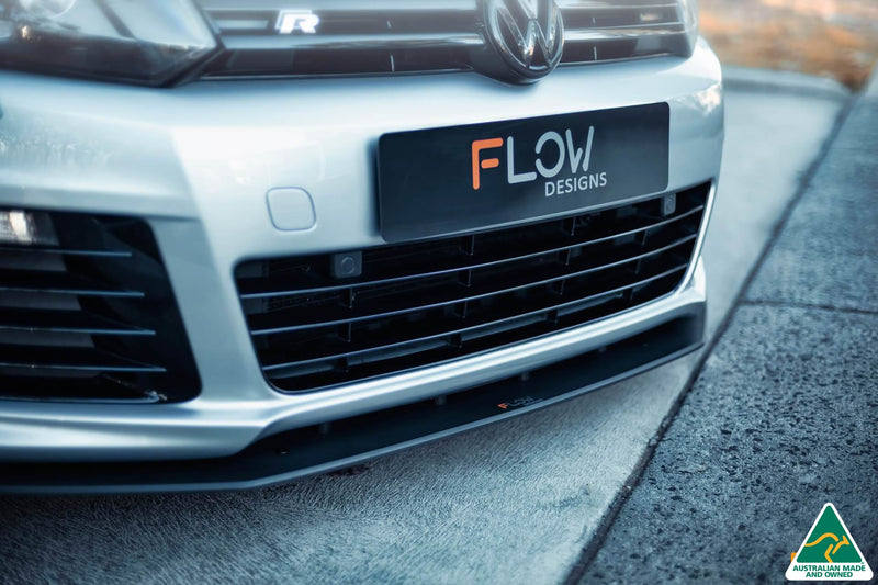 Buy VW MK6 Golf R Front Splitter V3 | Flow Designs Australia