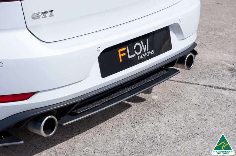 VW MK7.5 Golf GTI Rear Valance & Fairing | Flow Designs Australia