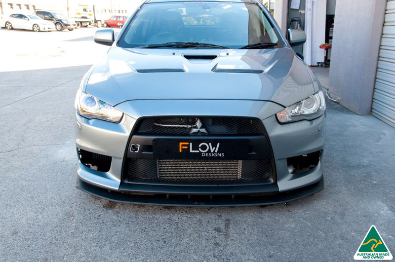 Buy Mitsubishi Lancer Evolution X Front Lip Splitters Online