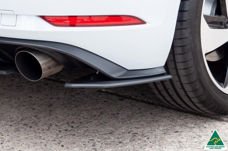 White Volkswagen MK7.5 Golf GTI & R Rear Spats