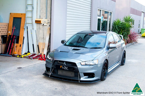 Buy Mitsubishi Lancer Evolution X Front Lip Splitter V2 Online