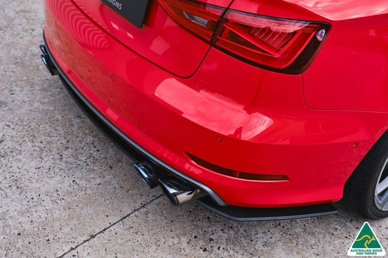 Audi S3 8V PFL Sedan Rear Spats V3 (Pair)