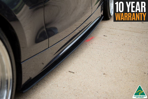 Black BMW 1 Series E82 M-Sport Side Skirt Extension Splitter