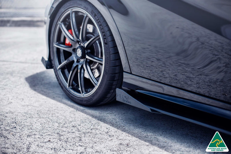 Mercedes-Benz A-Class A45 AMG Side Skirt Splitter Winglets