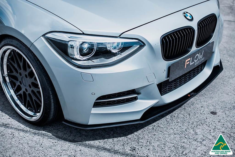 BMW F20 Pre LCI M135 1 Series Front Lip Splitter