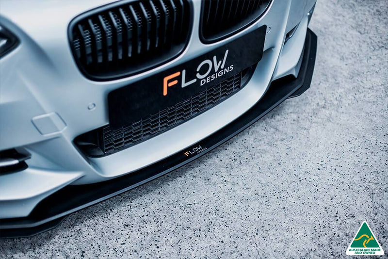 BMW 1 Series F20 Pre LCI M135 Front Lip Splitter Extensions