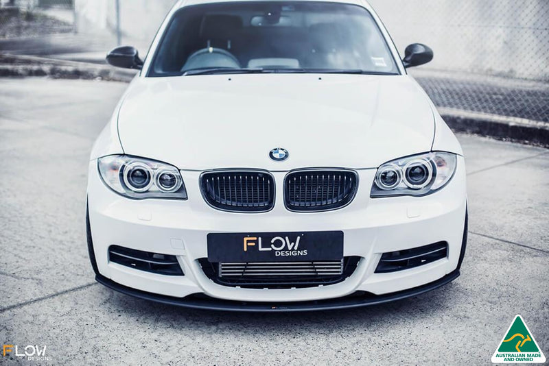 White E82 M Sport Lip Splitter Kit