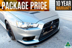 Buy Mitsubishi Evolution X Splitter Set | Flow Designs Australia