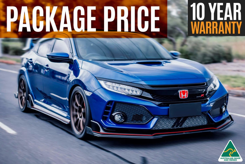 FK8 Civic Type R Front Lip/Side Splitters & Rear Diffusers