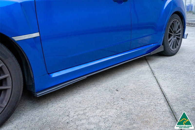 Impreza WRX / STI G3 Hatch Side Skirt Splitter Winglets