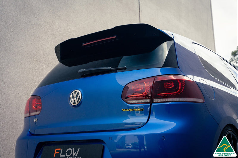 Volkswagen MK6 Golf GTI & R Rear Spoiler Extension