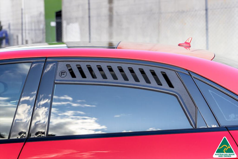 Red Audi S3 8V Sportback (Pre-Facelift) Window Vents