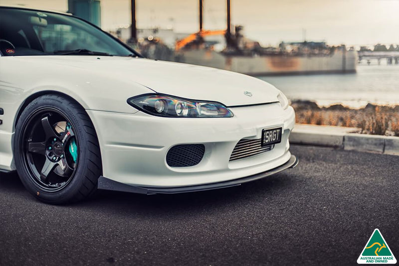 Nissan Silvia S15/200SX Front Lip Splitter Extensions