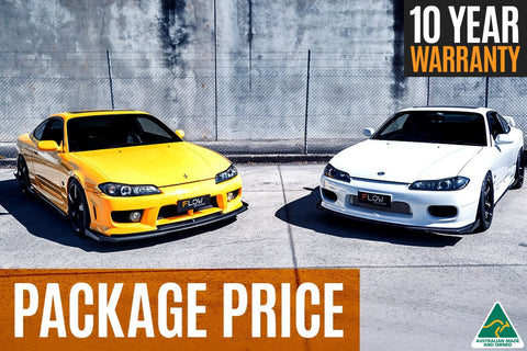 Buy S15 Front Lip Splitters, Side Extensions & Rear Pods/Spats Online