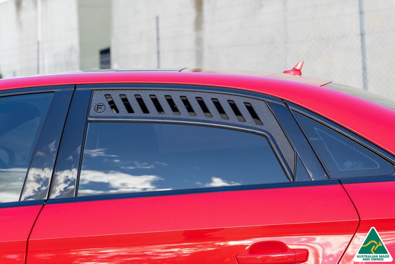 Red Audi S3 8V Sedan (Pre-Facelift) Window Vents