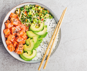 Simple At-Home Ahi Poke Bowls