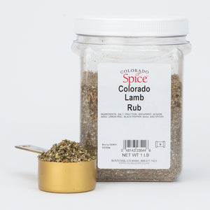 Colorado Lamb Rub - Bulk