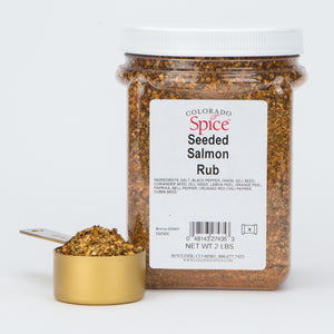 Seeded Salmon Rub - Bulk