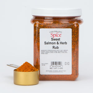 Sweet Salmon Herb Rub - Bulk