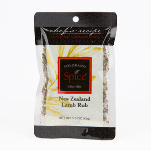 New Zealand Lamb Rub