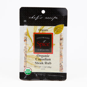 Organic Canadian Steak Rub