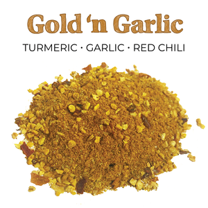 Gold N Garlic Spice Blend 6 Pack Ingredients