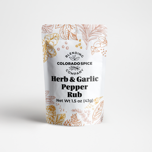 Herb & Garlic Pepper Rub
