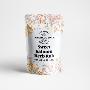 Sweet Salmon Herb Rub