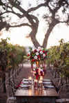 outdoor wedding vineyard - how to work from home and plan wedding - from The Garter Girl