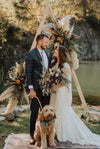 Boho Arch for Microwedding - Top Wedding Trends for 2021