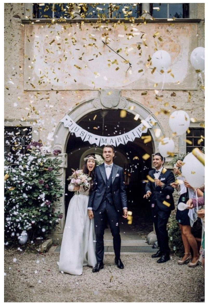 Biodegradable Wedding Confetti Cannons Wedding Exit Toss