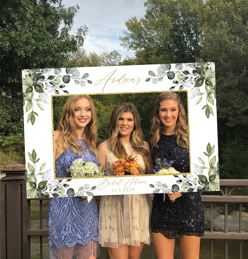 Bridal Shower Photo Frame Prop