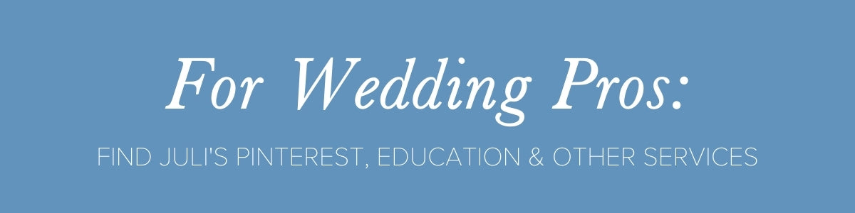 wedding business education from Julianne Smith