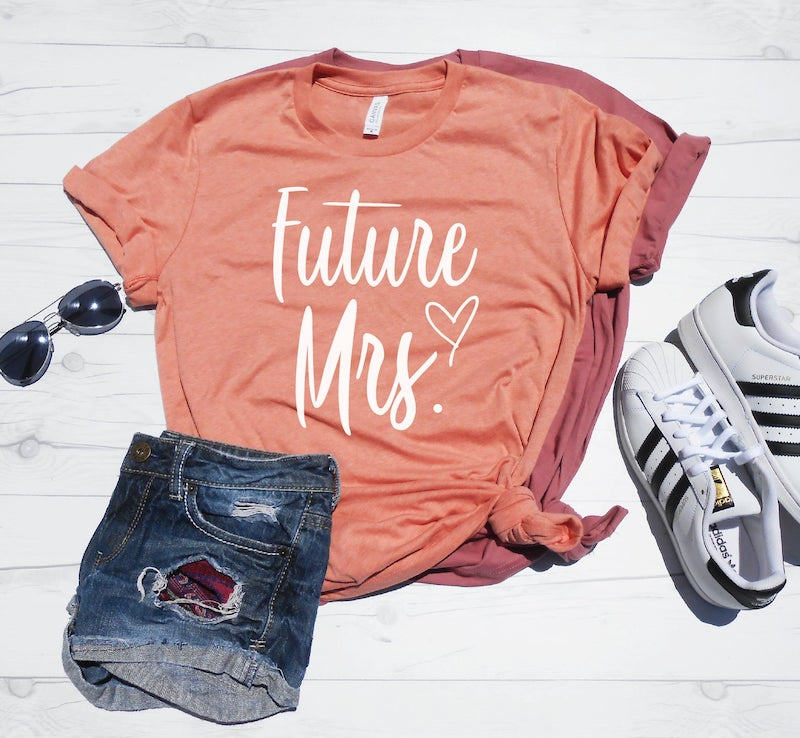 Plus Size Future Mrs. Tee Shirt
