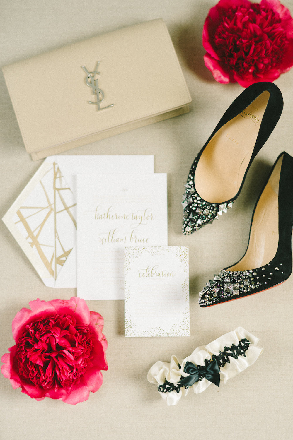 chic bridal accessories - advice for 2 months before wedding - The Garter Girl