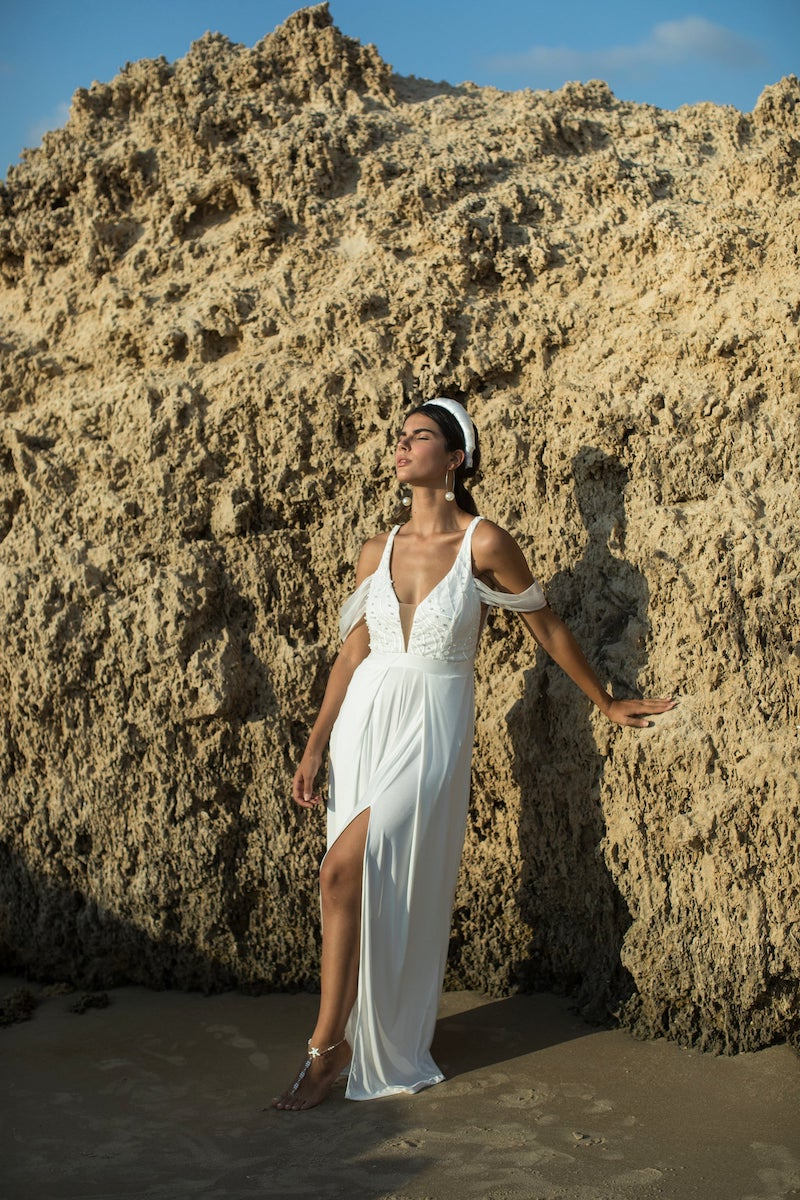 Boho Wedding Dress Jumpsuit