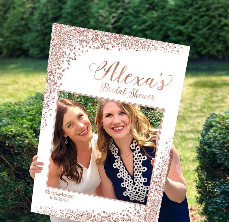 bridal shower Photo booth sign