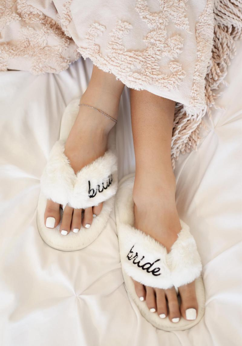 Bride To Be Slippers Gift Idea