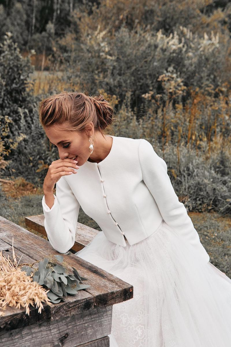 Cashmere Bridal Jacket