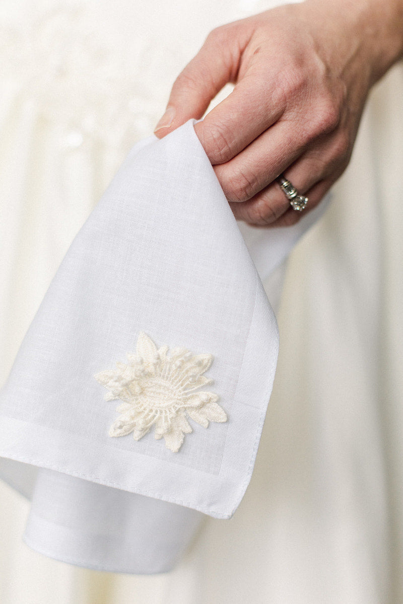 Family Heirloom Wedding Handkerchief