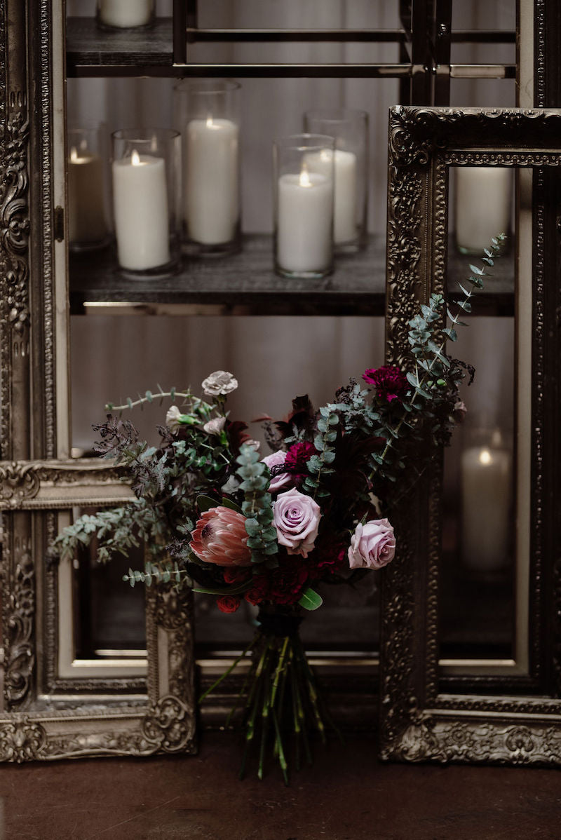 Moody Wedding Flower Inspiration