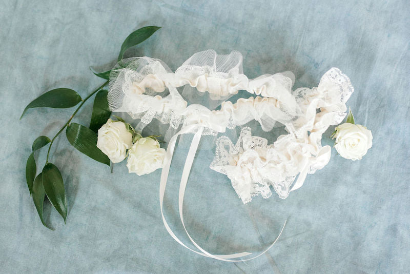 Ethereal Style Bridal Garters