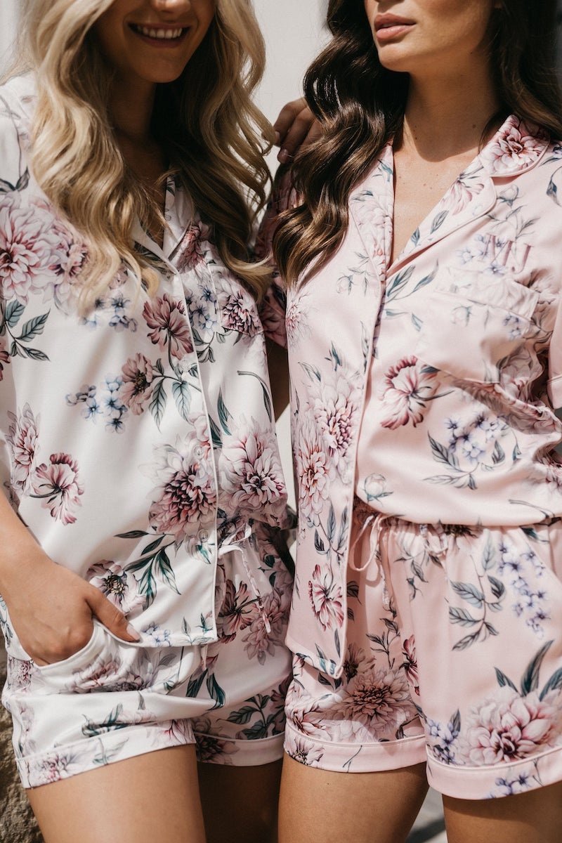 Floral Bridesmaid PJs