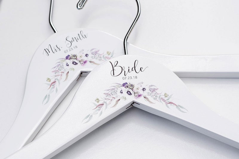Flower Wedding Dress Hanger