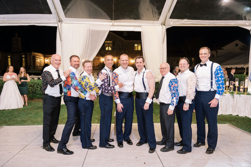 Groom and Groomsmen Party Shirts