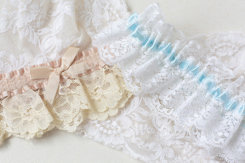 mother's wedding garters heirlooms