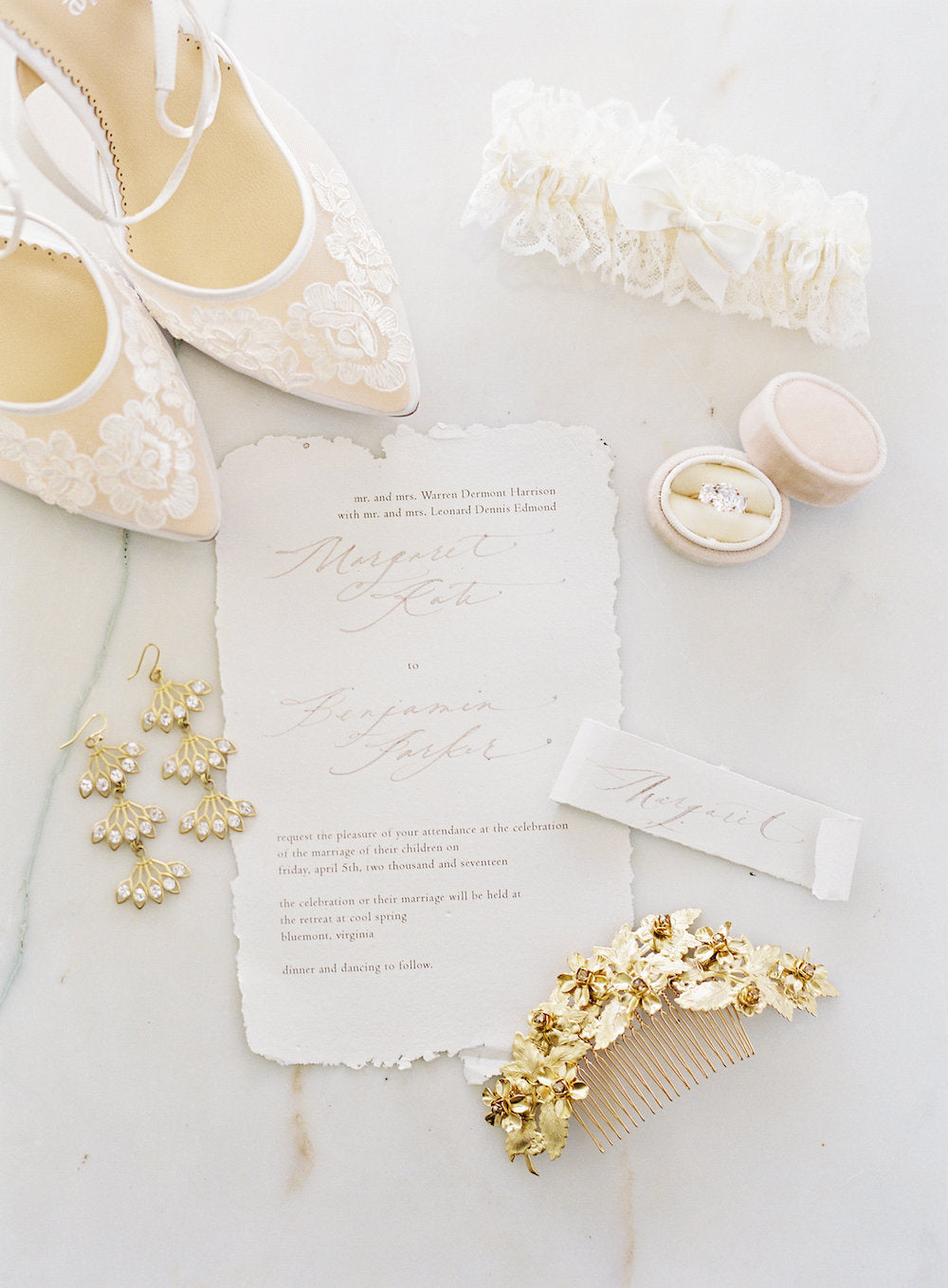 feminine bridal accessories - how to make a free bridal fashion plan by The Garter Girl