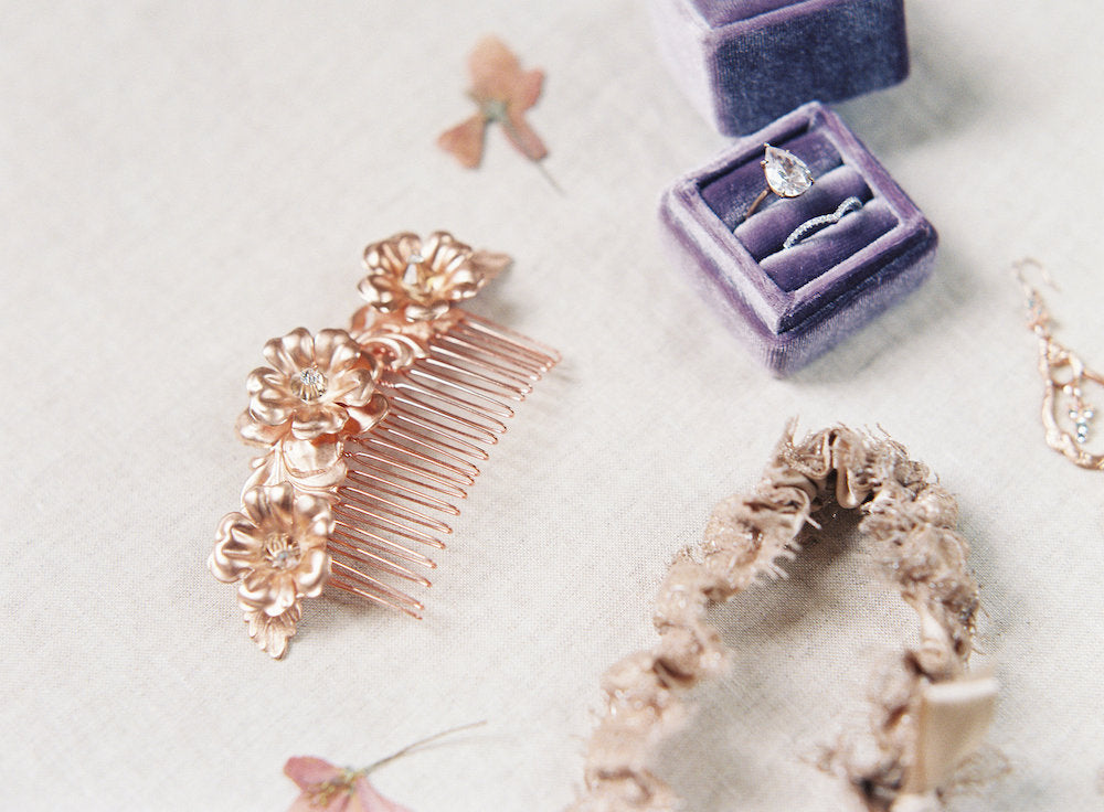 chic bridal accessories - how to make a free bridal fashion plan by The Garter Girl