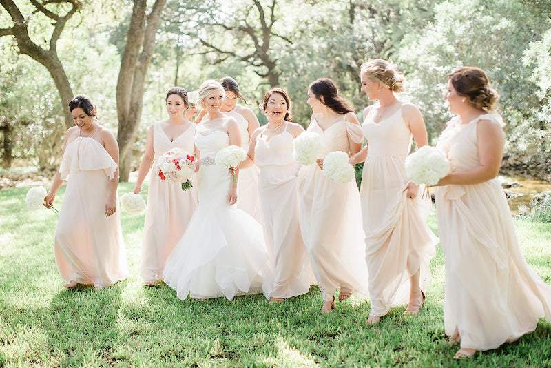 how to pamper bridesmaids
